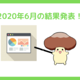 2020年6月の結果発表!